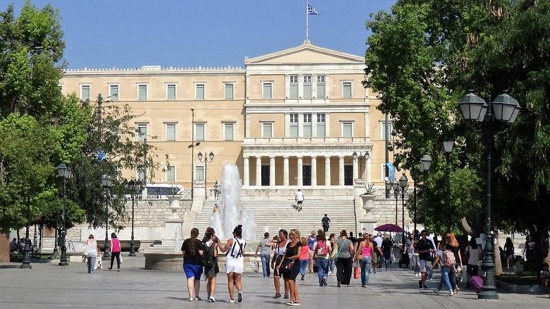 Bairro de Syntagmaem Atenas