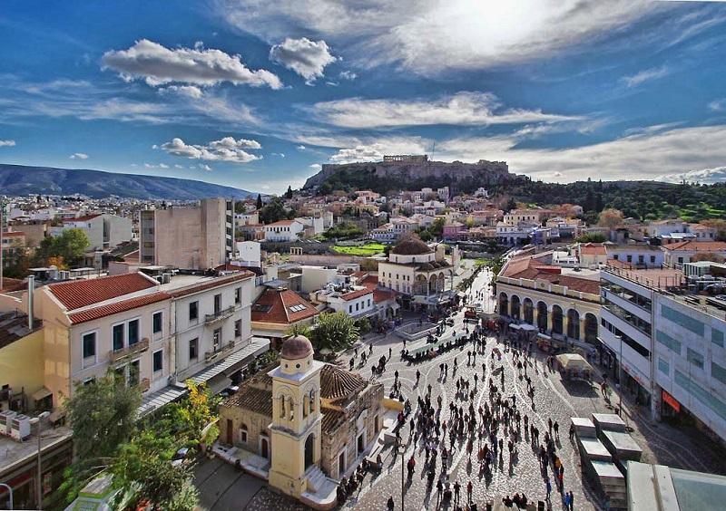Como ir do aeroporto de Atenas até o centro turístico