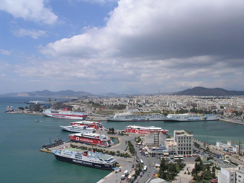 Pireus em Atenas
