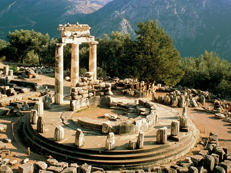 Relógio grego - Ponto turístico