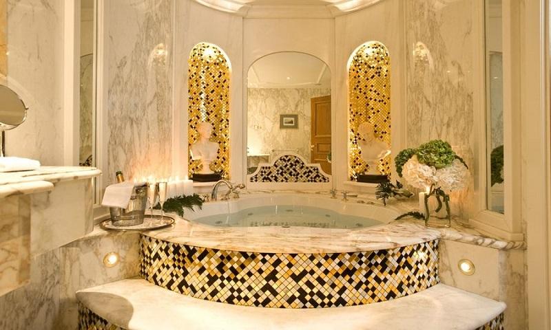Banheiro do Royal Olympic