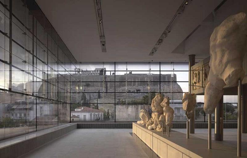 Museu em Atenas